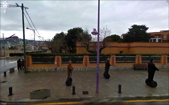 Интересные кадры с Google Street View (120 фото)