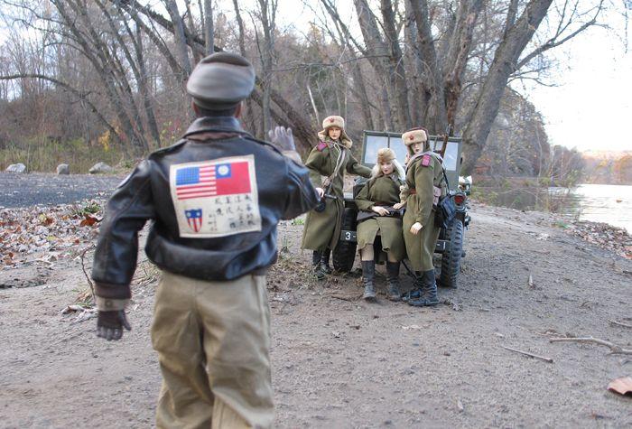 Военные игры кукол (50 фото)