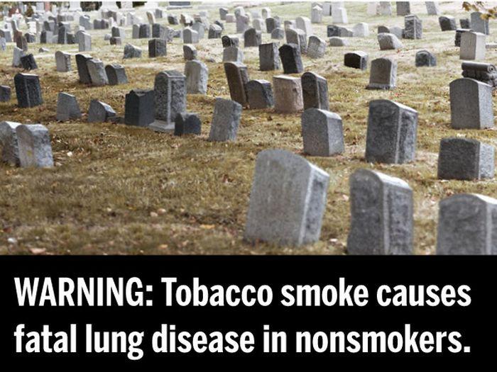 Страшилки на пачках сигарет (36 фото)