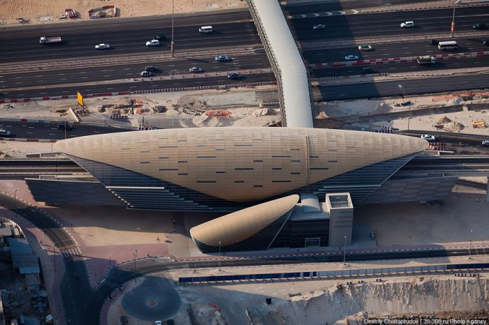 Дубайский метрополитен (43 фото)