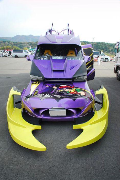 Фургон Бэтмена (8 фото)