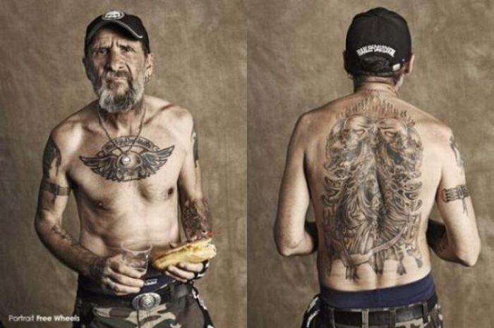Фотографии байкеров (39 фото)