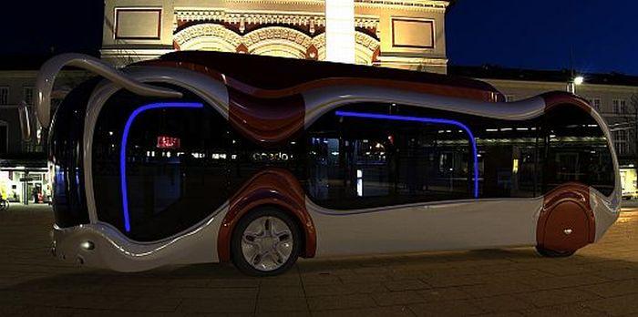 Концептуальный автобус Credo E-Bone (12 фото)