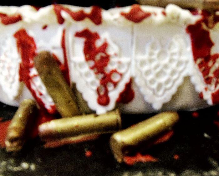 Торт в стиле Убить Билла (8 фото)