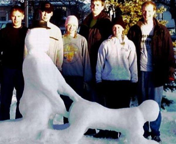 Снеговики для взрослых (20 фото)