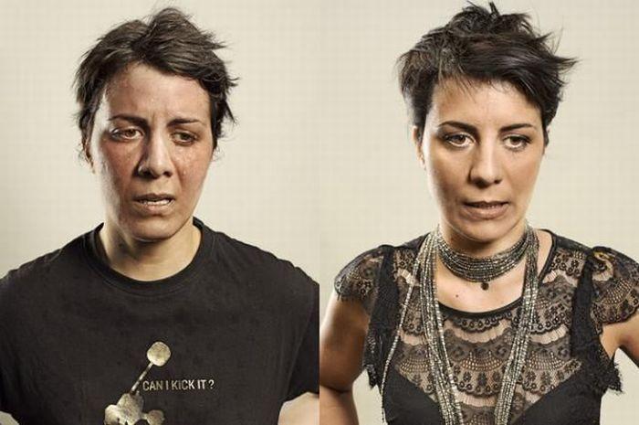 До и после тренировки (22 фото)
