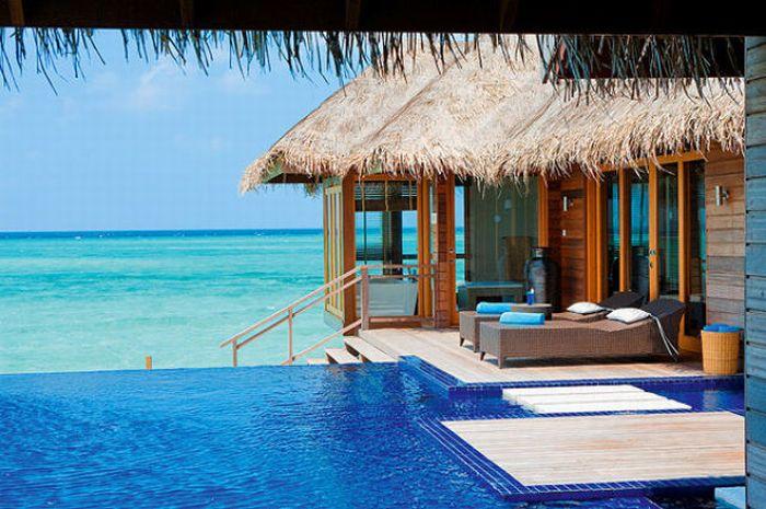 Райский уголок на Мальдивах (19 фото)