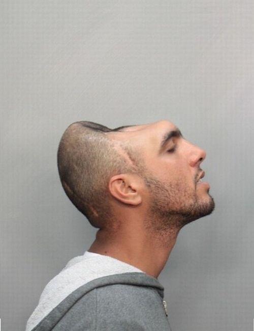 Половина головы (4 фото)