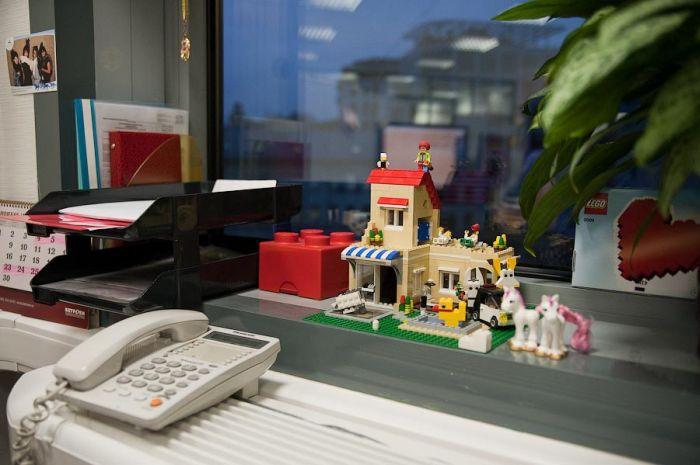 Офис Lego в Москве (47 фото)