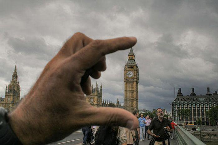 Фотографии с необычной перспективой (88 фото)