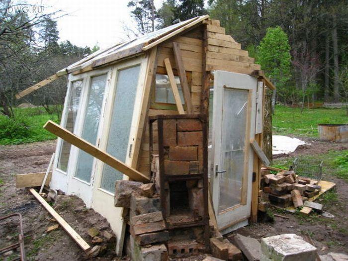 Построил дом на дачном