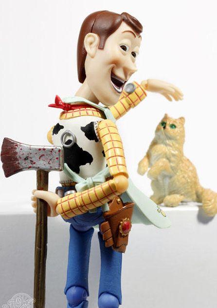 Тайная жизнь Вуди из Истории Игрушек (46 фото)