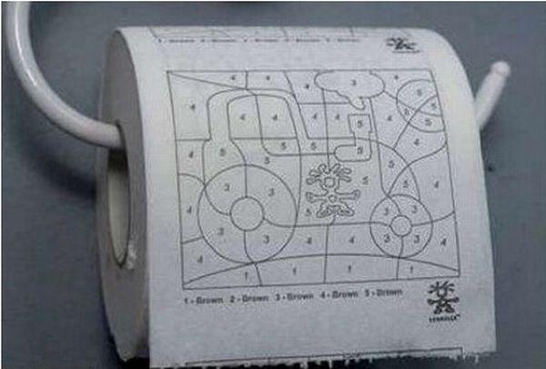 Необычный дизайн туалетной бумаги (27 фото)