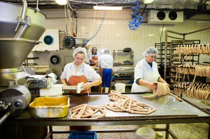 Производство колбасных изделий (38 фото)