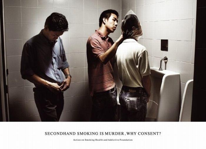 Лучшая антитабачная реклама (74 фото)
