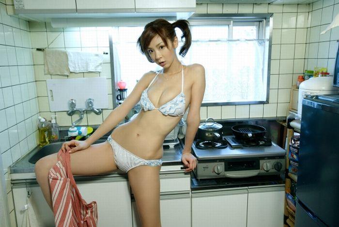Частное Фото Девушек На Кухне