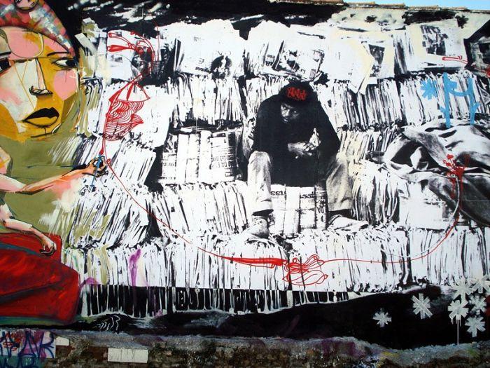 Уличное искусство (158 фото)
