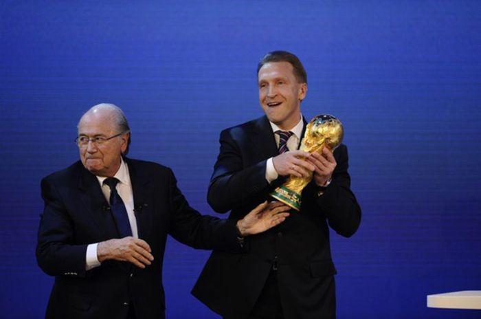 Чемпионат мира 2018 пройдет в России (10 фото + 2 видео)
