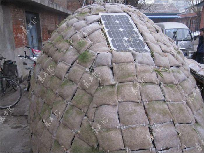 Дом-яйцо для бездомных (23 фото)