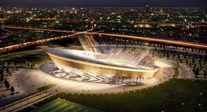 Стадионы для Чемпионата Мира по футболу 2018 года (16 фото)