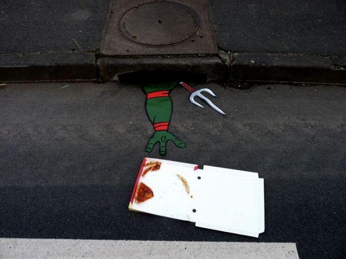 Классный стрит-арт (12 фото)