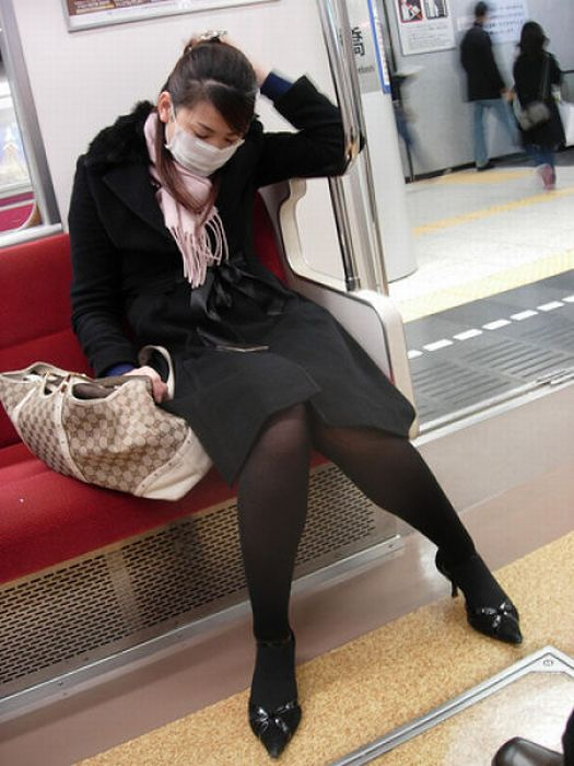 Японское искусство - инемури (27 фото)