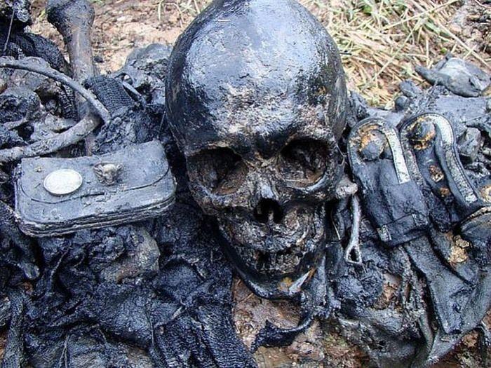 фото находок чёрных копателей.