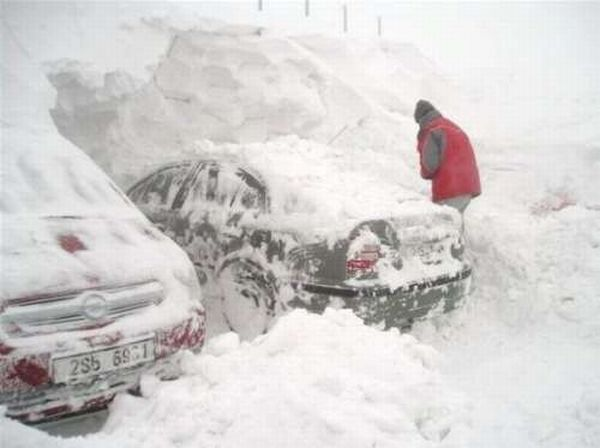 Зима пришла (6 фото)