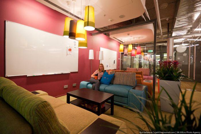 Офис Google в Москве (49 фото)