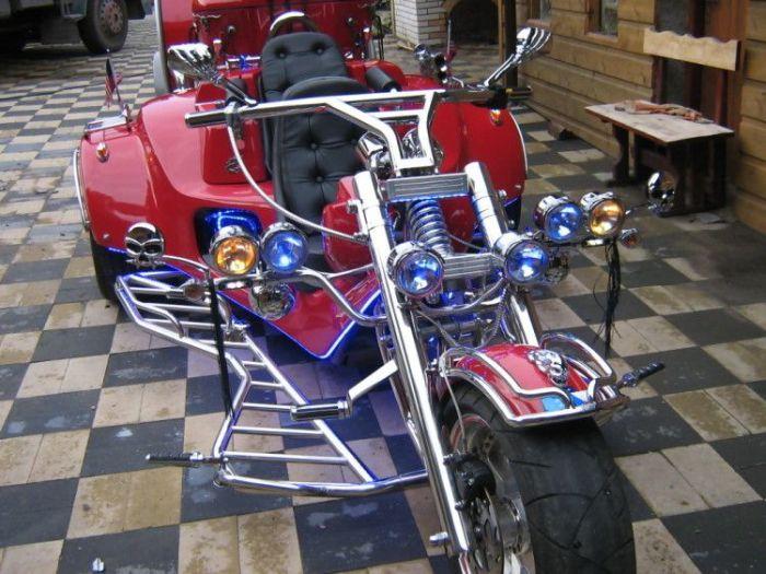 Классный мотоцикл (9 фото)