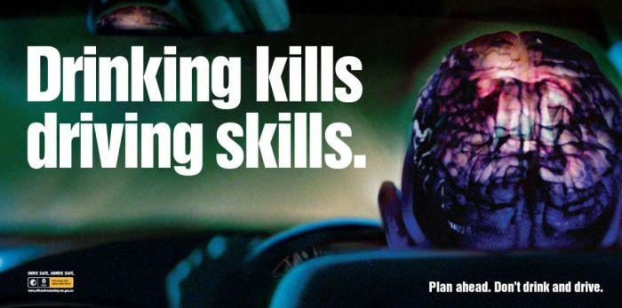 Лучшая реклама на тему вождения под алкоголем (59 фото)