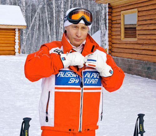 Владимир Путин занимается спортом (18 фото)