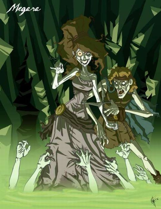 Страшные диснеевские принцессы (14 фото)