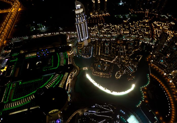 Дубай ночью (13 фото)