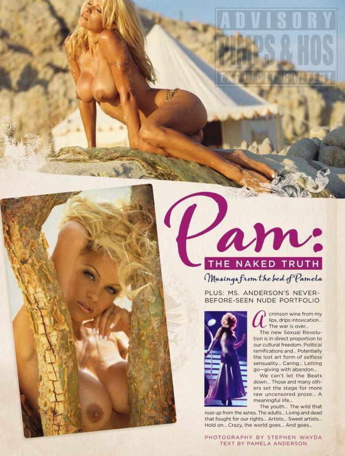 Памела Андерсон снова на обложке журнала Playboy (8 фото) НЮ