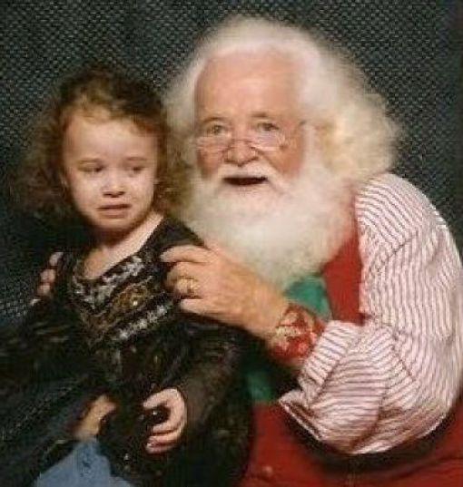 Страшные Деды Морозы (20 фото)