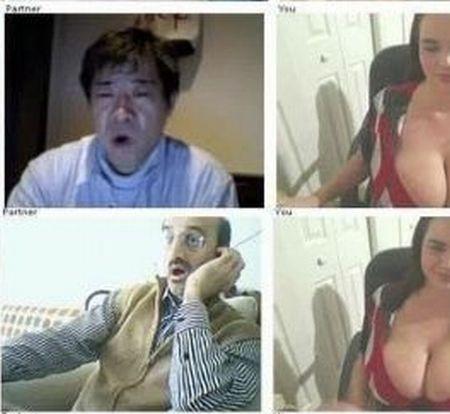Девушка с большой грудью и реакция мужчин (16 фото)