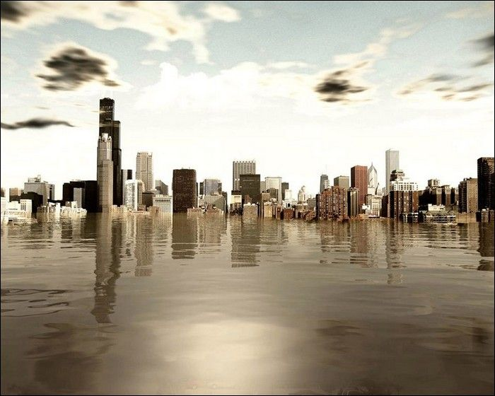 Второй Великий потоп (33 фото)