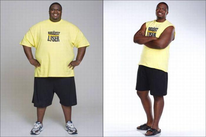 Участники шоу The Biggest Loser до и после шоу. Часть 2 (17 фото)