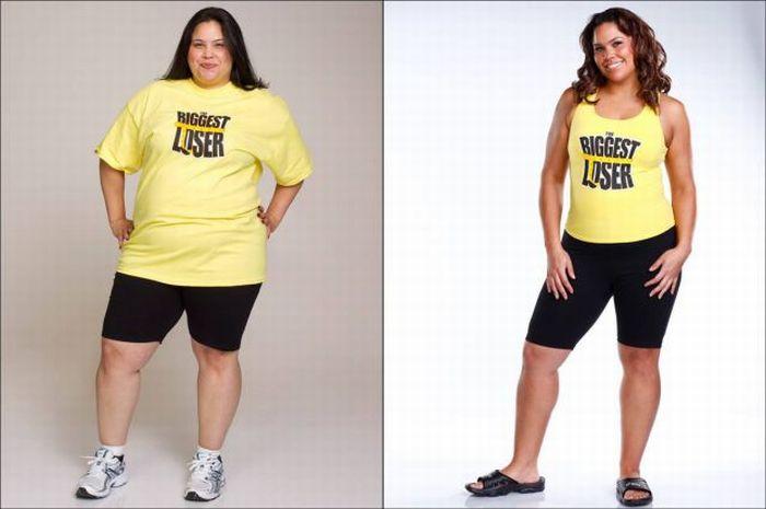 Biggest loser до и после шоу часть 2 17 фото