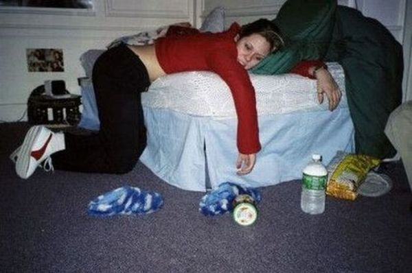 Пьяные девушки (107 фото)