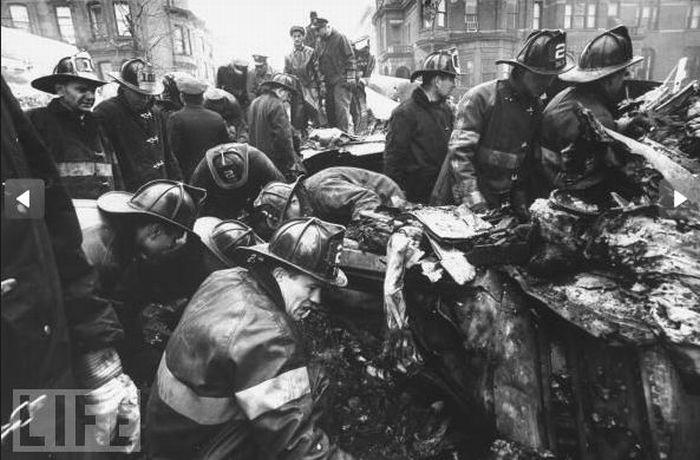Столкновение самолетов над Нью-Йорком в 1960 году (15 фото)