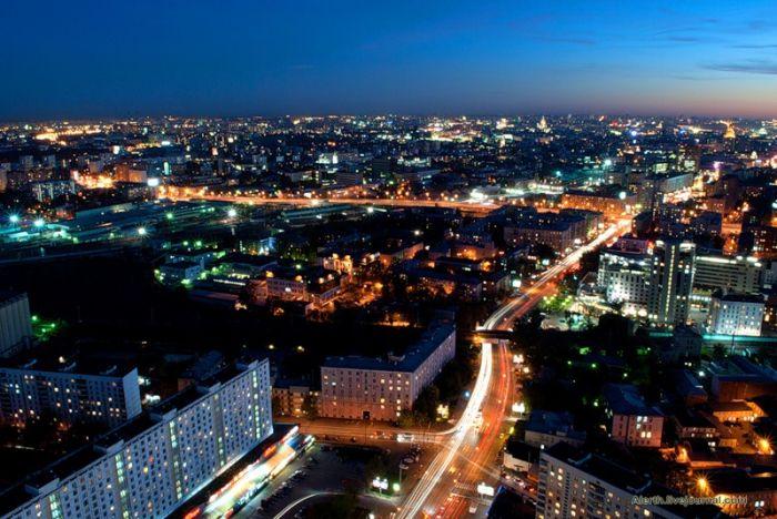 Москва, виды сверху (29 фото)