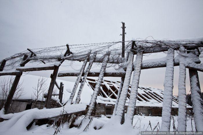 Заброшенная колония строгого режима в Пермском крае (39 фото)