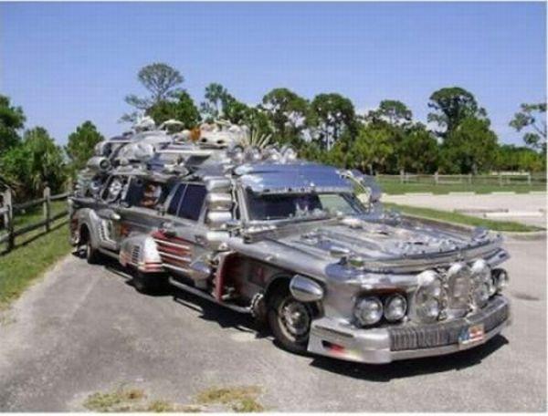 Удлиненные автомобили (41 фото)