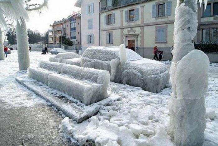 Красивые последствия зимнего шторма (25 фото)