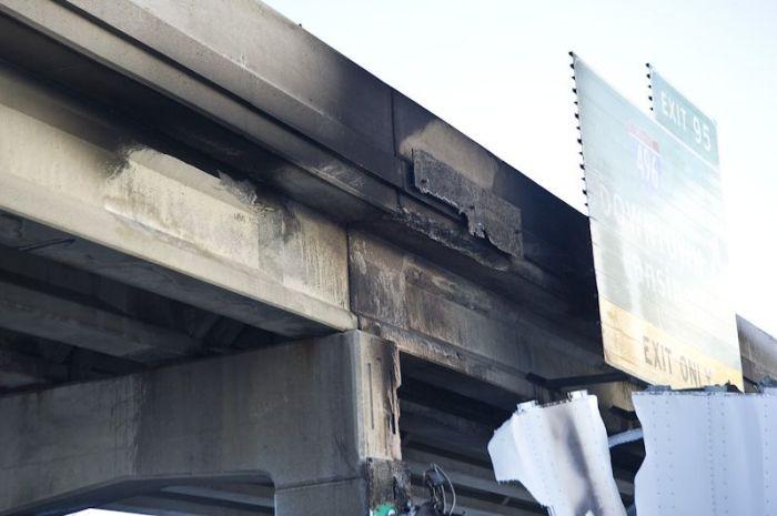 Авария фуры в Мичигане (7 фото)