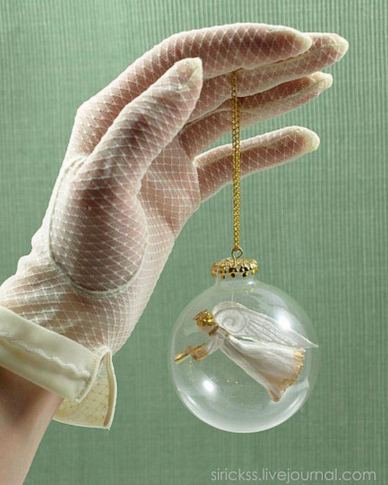 Рождественские игрушки своими рукам из бумаги