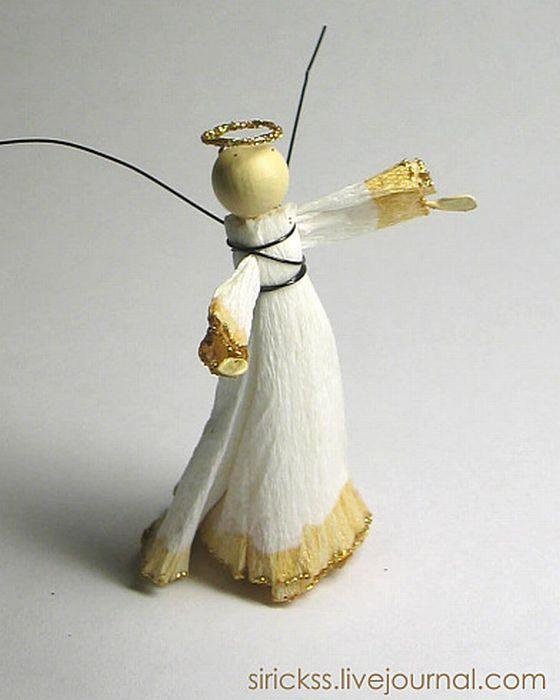 Прекрасный ангел в стеклянном шаре (мастер-класс в фотографиях)) 15716