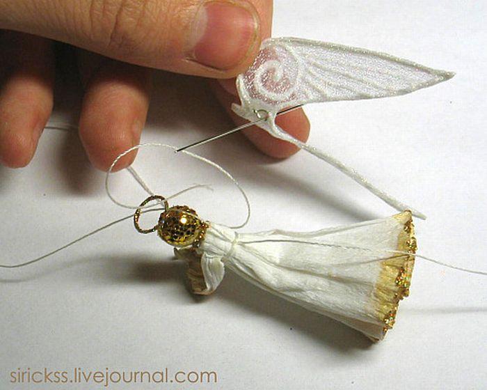 Прекрасный ангел в стеклянном шаре (мастер-класс в фотографиях)) 37118